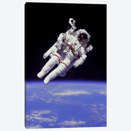 NASA Astronaut Canvas Print #11060} by NASA Art Print