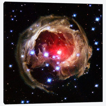 V838 Monocerotis (Hubble Space Telescope) Canvas Print #11066} by NASA Canvas Artwork