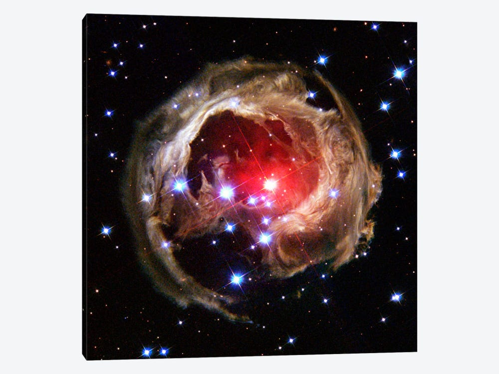 V838 Monocerotis (Hubble Space Telescope) by NASA 1-piece Canvas Artwork