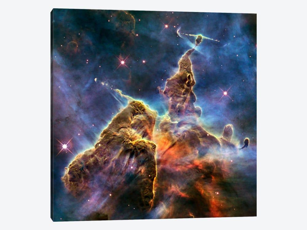 Mystic Mountain in Carina Nebula II (Hubble Space Telescope) by NASA 1-piece Art Print
