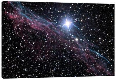Veil Nebula (NASA) Canvas Art Print