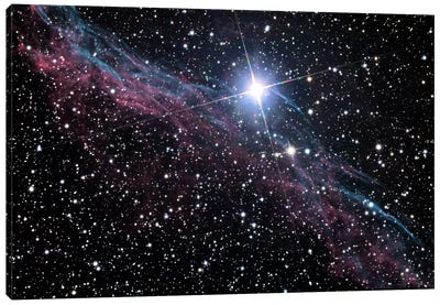 Veil Nebula (NASA) Canvas Art Print
