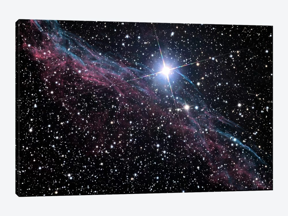 Veil Nebula (NASA) by NASA 1-piece Canvas Print