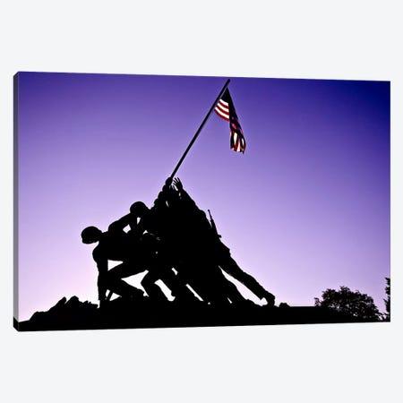 World War II Iwo Jima Memorial Canvas Print #11105} by Unknown Artist Canvas Print