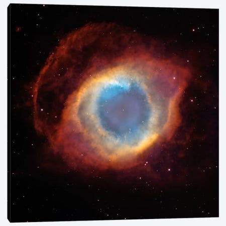 Helix (Eye of God) Nebula (Hubble Space Telescope) Canvas Print #11106} by NASA Canvas Print
