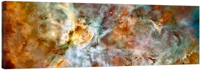 Carina Nebula (Hubble Space Telescope) Canvas Art Print