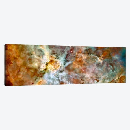 Carina Nebula (Hubble Space Telescope) Canvas Print #11107} by NASA Art Print