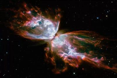 Butterfly Nebula (Hubble Space Telescope) Canvas Art Print ...