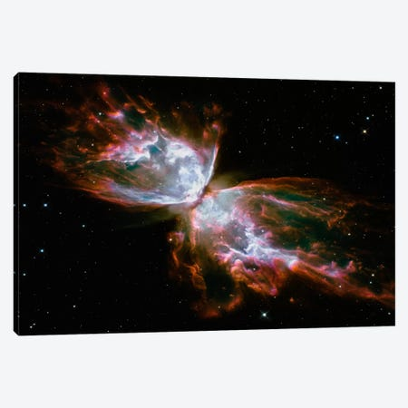 Butterfly Nebula (Hubble Space Telescope) Canvas Print #11109} by NASA Canvas Artwork
