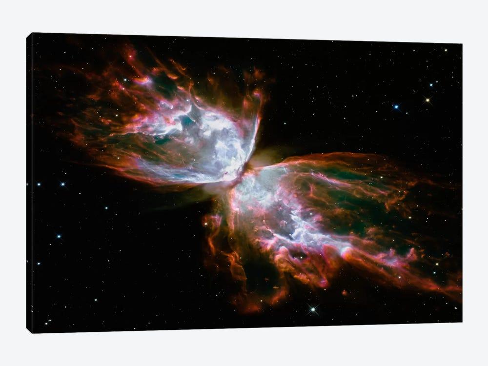 Butterfly Nebula (Hubble Space Telescope) by NASA 1-piece Canvas Artwork