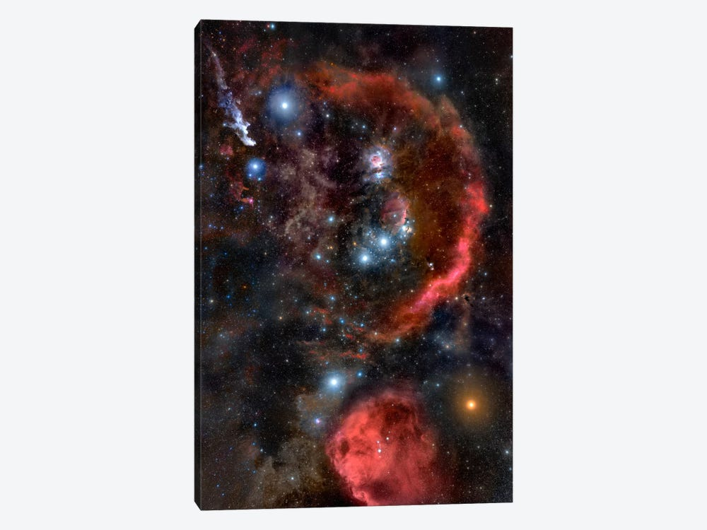 Orion the Hunter (Hubble Space Telescope) by NASA 1-piece Canvas Artwork