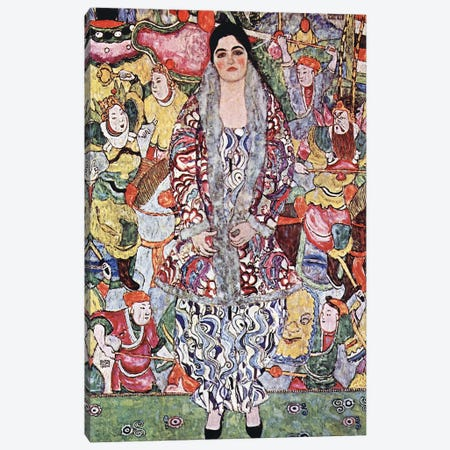 Portrait of Friederike Maria Beer 1916 Canvas Print #1112} by Gustav Klimt Canvas Art