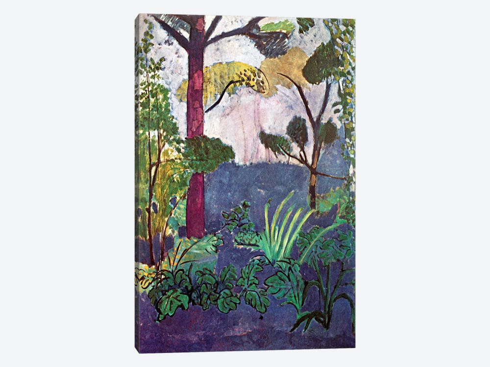 Moroccan Landscape (1913) by Henri Matisse 1-piece Canvas Art