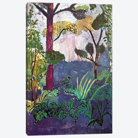 Moroccan Landscape (1913) 3-Piece Canvas #11147} by Henri Matisse Canvas Print