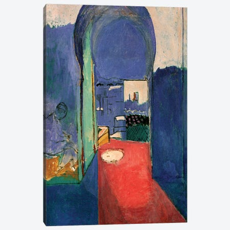 Entrance to the Kasbeh (1912) Canvas Print #11152} by Henri Matisse Canvas Art Print