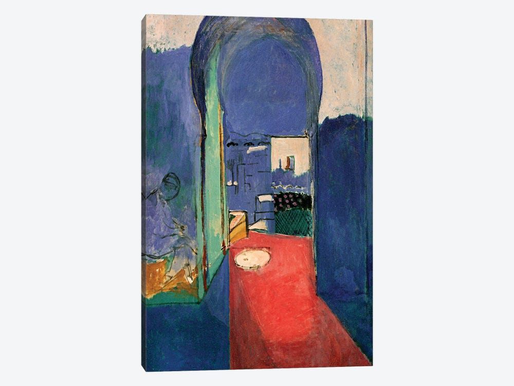 Entrance to the Kasbeh (1912) by Henri Matisse 1-piece Canvas Wall Art