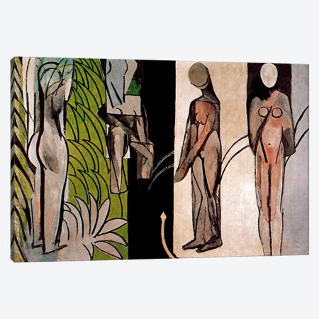 Bathers By a River Canvas Print #11164} by Henri Matisse Art Print