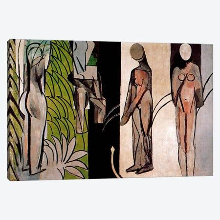 Bathers By a River Canvas Print #11164} by Henri Matisse Art Print