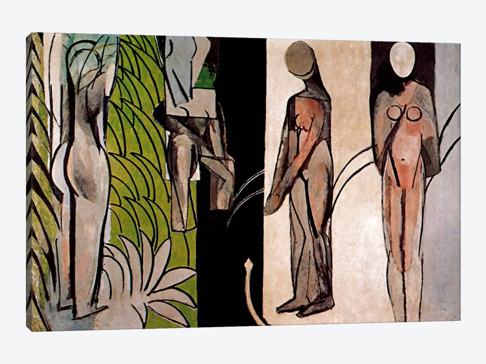 Bathers By a River by Henri Matisse 1-piece Canvas Print