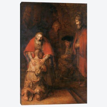 Return of the Prodigal Son c. 1668 Canvas Print #1117} by Rembrandt van Rijn Canvas Print