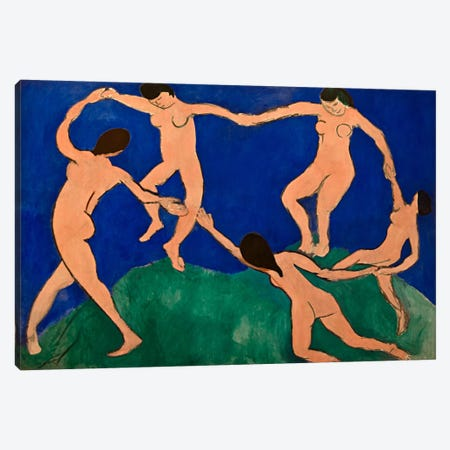 The Dance I Canvas Print #11188} by Henri Matisse Canvas Art