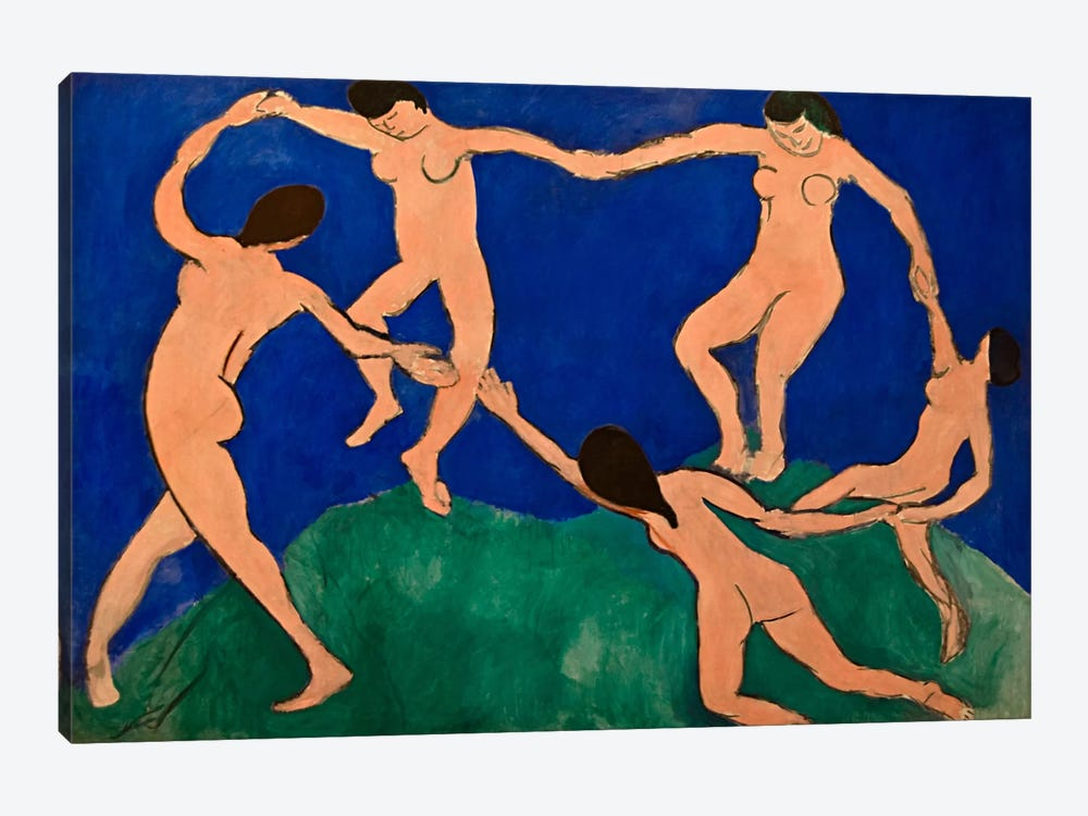 The Dance I by Henri Matisse 1-piece Canvas Art Print
