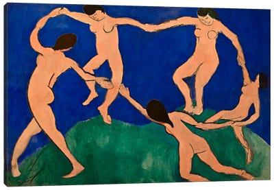 The Dance I Canvas Art Print