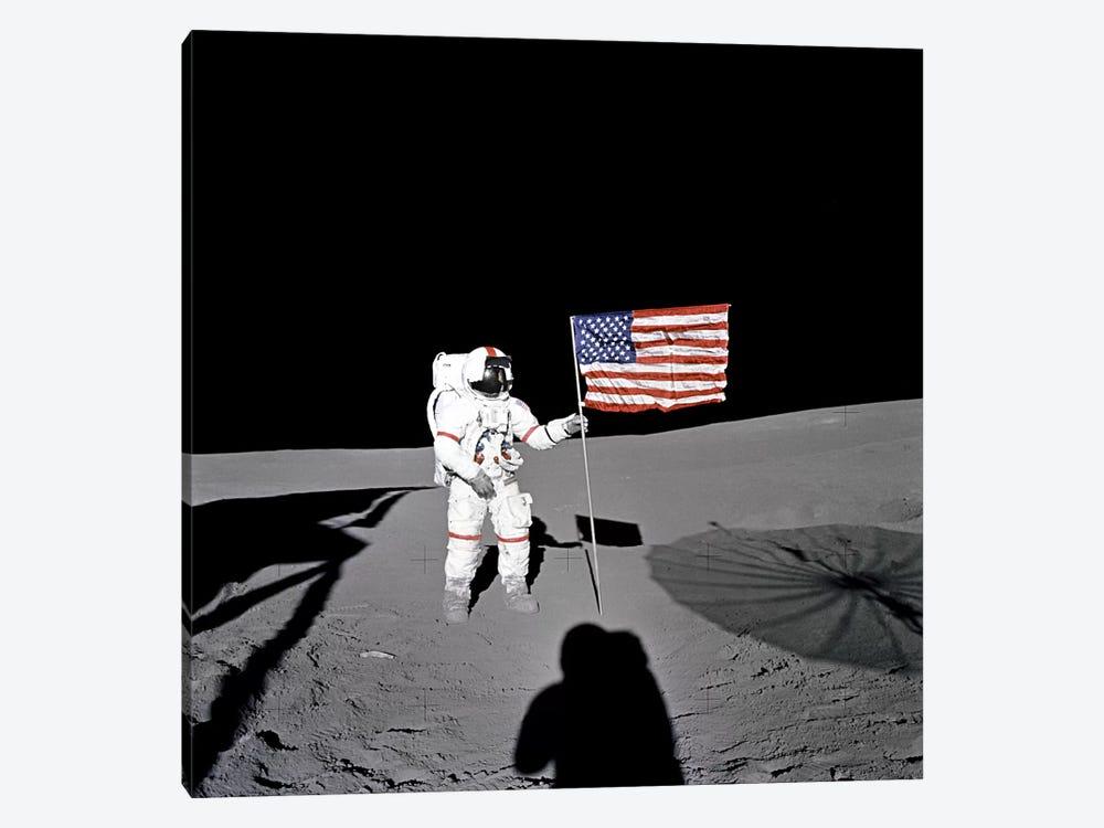 Apollo 14 Shepard by NASA 1-piece Canvas Wall Art