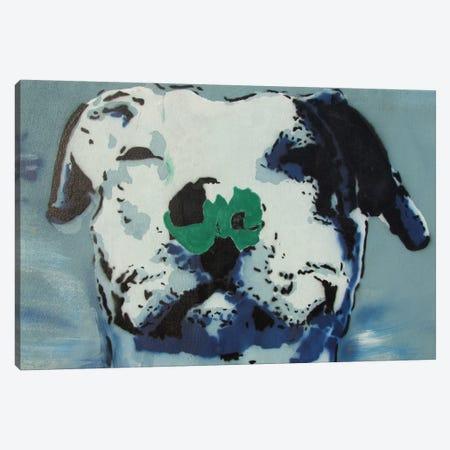 Man's Best Friend Canvas Print #11200} by Unknown Artist Canvas Art Print