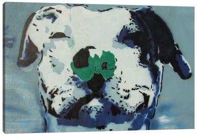 Man's Best Friend Canvas Art Print