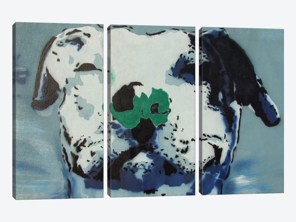 Man's Best Friend by Unknown Artist 3-piece Art Print