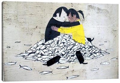 Embrace Valencia Canvas Art Print