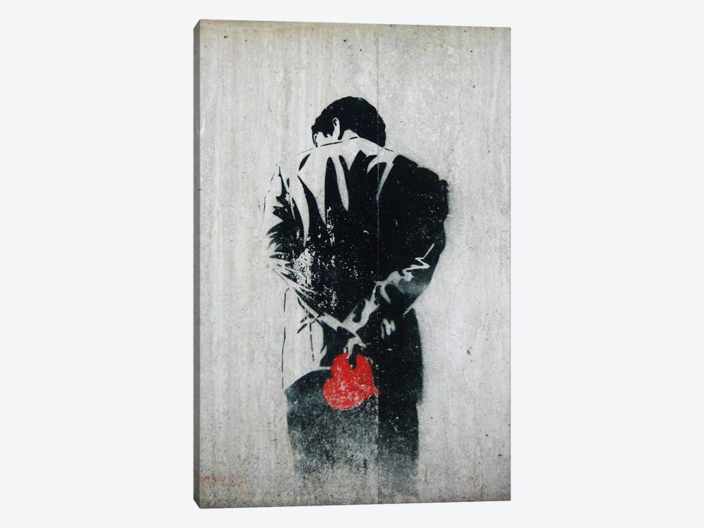 Holding Back by Unknown Artist 1-piece Canvas Print