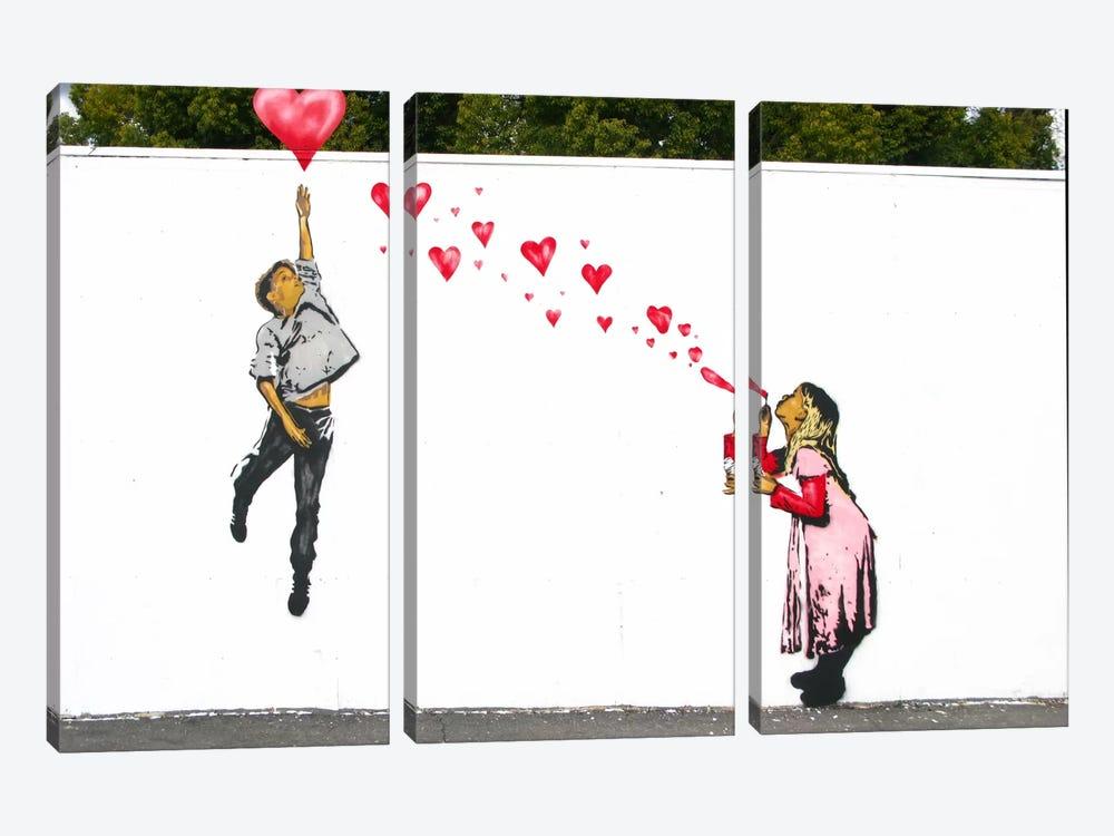 Hard To Get by Unknown Artist 3-piece Canvas Artwork