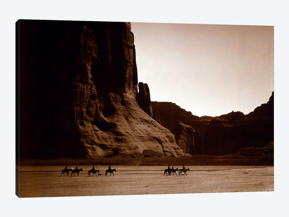 Canyon de Chelly, Navajo by Unknown Artist 1-piece Canvas Art Print