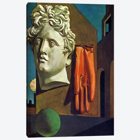 The Song of Love Canvas Print #11250} by Giorgio de Chirico Canvas Wall Art