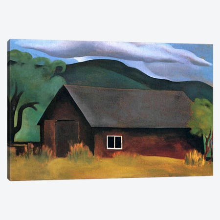 My Shanty, Lake George Canvas Print #11269} by Georgia O'Keeffe Canvas Print