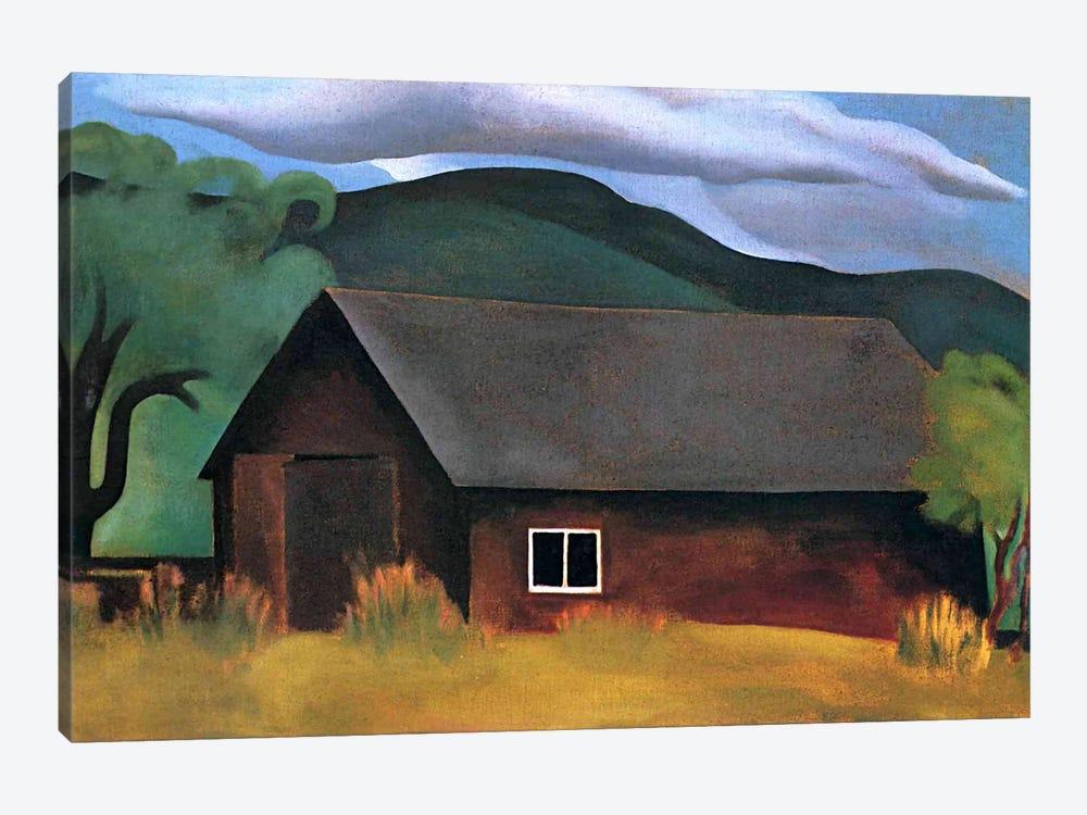 My Shanty, Lake George by Georgia O'Keeffe 1-piece Canvas Wall Art