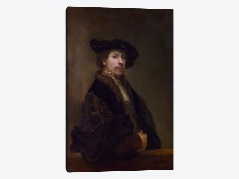 Self Portrait at the Age of 34 1640 by Rembrandt van Rijn 1-piece Art Print