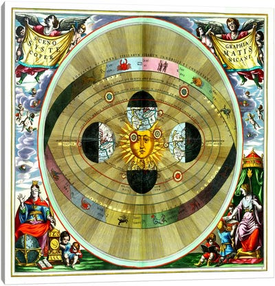 Harmonia Macrocosmica (CellariusAndreas) Canvas Art Print
