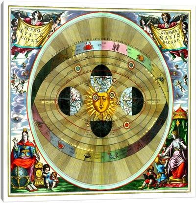 Harmonia Macrocosmica (CellariusAndreas) Canvas Art Print