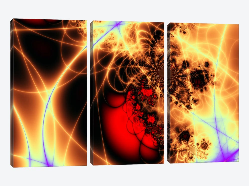 Beating Heart by iCanvas 3-piece Canvas Print