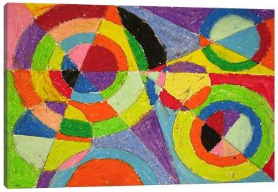 Color Explosion Canvas Art Print
