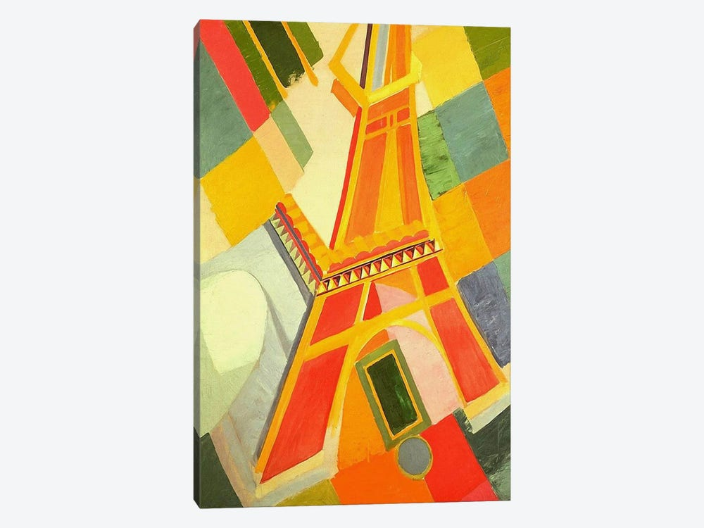 Eiffel Tower by Robert Delaunay 1-piece Canvas Wall Art