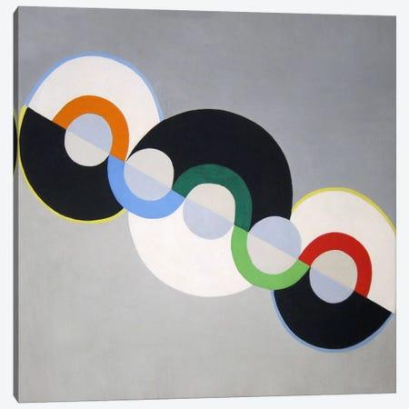Endless Rhythm Canvas Print #11314} by Robert Delaunay Canvas Artwork