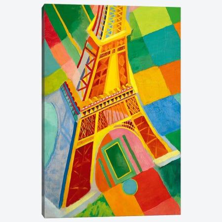 Tour Eiffel (Tower) Canvas Print #11316} by Robert Delaunay Canvas Artwork