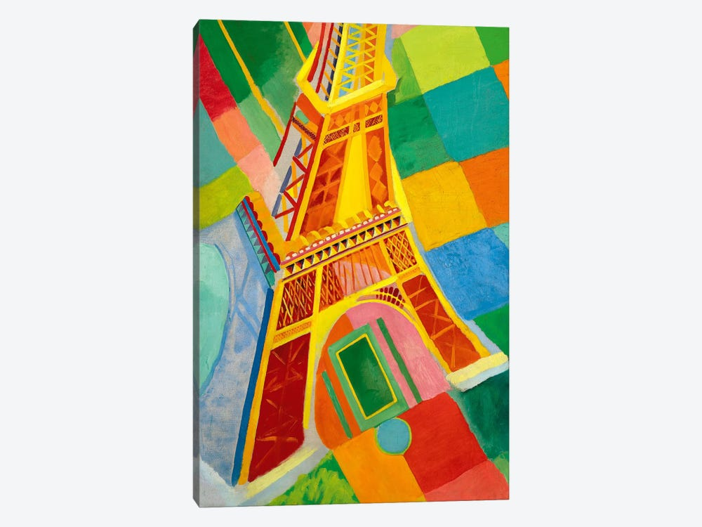 Tour Eiffel (Tower) by Robert Delaunay 1-piece Canvas Print