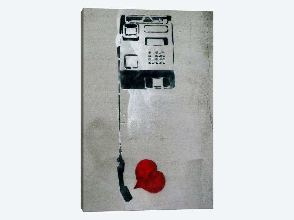 Dolk Phone by Unknown Artist 1-piece Canvas Wall Art