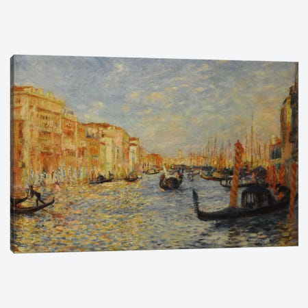Grand Canal Venice Canvas Print #1132} by Pierre-Auguste Renoir Canvas Wall Art