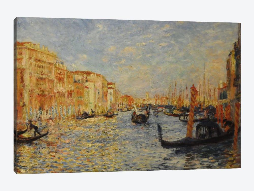Grand Canal Venice by Pierre-Auguste Renoir 1-piece Canvas Artwork
